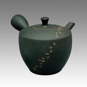 Tokoname Kyusu teapot - NAGASABURO - Cut 180cc/ml - ceramic fine mesh - Item Image