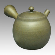 Tokoname Kyusu teapot - NAGASABURO - SAKURA 200cc/ml - ceramic fine mesh - Item Image