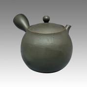 Tokoname Kyusu teapot - NAGASABURO - Black 220cc/ml - ceramic fine mesh - Item Image