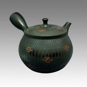 Tokoname Kyusu teapot - NAGASABURO - Totilicat 300cc/ml - ceramic fine mesh - Item Image