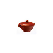 Hohin teapot - SOZAN (140cc/ml) Red - ceramic mesh