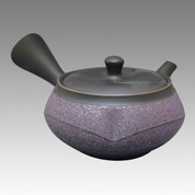 Tokoname Kyusu teapot - UKO - Purple belt 250cc/ml - obi ami stainless steel net - Item Image