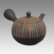 Tokoname Kyusu teapot - SHOHO - Tusuki 320cc/ml - ceramic fine mesh - Item Image