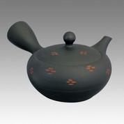 Tokoname Kyusu teapot - SHOHO - Cut 260cc/ml - ceramic fine mesh - Item Image
