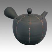Tokoname Kyusu teapot - SHOHO - Lurreto 420cc/ml - ceramic fine mesh - Item Image