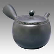 Tokoname Kyusu teapot - SHOHO - Leopard print 380cc/ml - ceramic fine mesh - Item Image