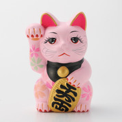 Sakura Manekineko - C - Right hand up - Lucky cat (Welcome cat)