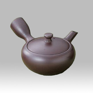 Banko-yaki Kyusu teapot - Iron color - 150cc/ml