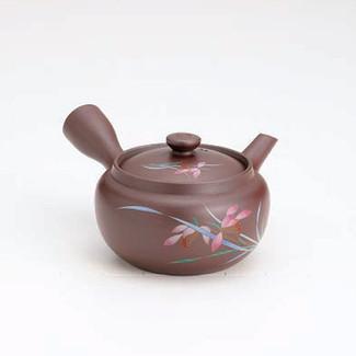 Banko-yaki Kyusu teapot - Orchid - 300cc/ml