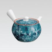Arita-yaki Kyusu teapot - Bush clover - 260cc/ml
