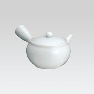 Arita-yaki Kyusu teapot - White Kyusu - 200cc/ml