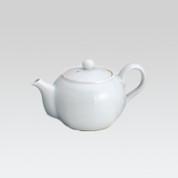 Arita-yaki Kyusu teapot - White mini Kyusu (Behind) - 120cc/ml