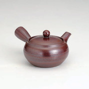 Banko-yaki Kyusu teapot - Iron-style glaze - 360cc/ml