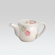 Mino-yaki teapot - Plum miyabi - 360cc/ml