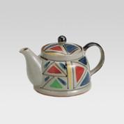 Mino-yaki teapot - Geometric pattern - 430cc/ml