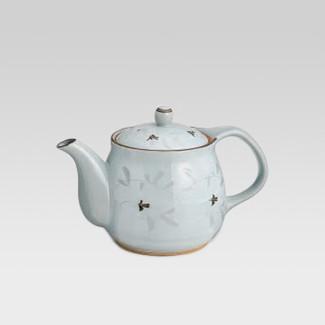 Arita-yaki teapot - White arabesque - 550cc/ml