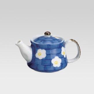 Teapot - Blue & plum - 360cc/ml