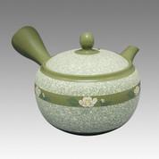 Tokoname Kyusu teapot - SHUNJYU - Camellia 340cc/ml - obi ami stainless steel net - Item Image