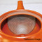 Tokoname Kyusu teapot - ISSIN - Crochet 270cc/ml - Refresh stainless steel net - Refresh stainless steel net