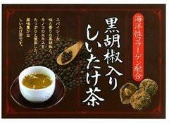 Black pepper containing shiitake tea 40 bags - box