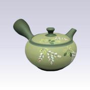 Tokoname Kyusu teapot - SHUNJYU - Moth - 220cc/ml