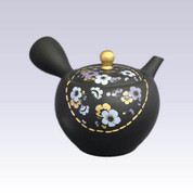 Tokoname Kyusu teapot - Plum - 320cc/ml