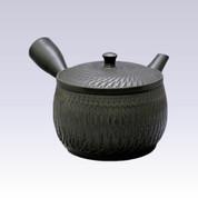 Tokoname Kyusu teapot - SEKIRYU - Black Ink - 320cc/ml