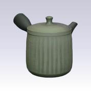 Tokoname Kyusu teapot - SEKIRYU - Green Ink - 290cc/ml