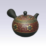 Tokoname Kyusu teapot -  Red Grain - 200cc/ml