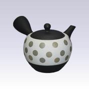Tokoname Kyusu teapot - Polka Dot - 320cc/ml