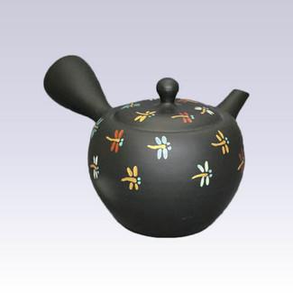 Tokoname Kyusu teapot - Dragonfly - 320cc/ml