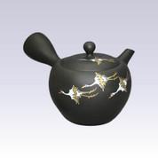 Tokoname Kyusu teapot - Crane - 320cc/ml