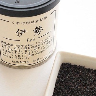 Ise Black 50g (1.76oz) Japanese pure black tea from Mie