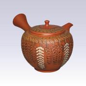 Tokoname Kyusu teapot - Wisteria - 280cc/ml