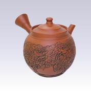 okoname Kyusu teapot - KAIUN - Shudei Sculpture - 270cc/ml