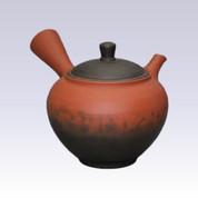 Tokoname Kyusu teapot - Vermilion - 260cc/ml
