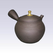 Tokoname Kyusu teapot - Golden Knob - 320cc/ml