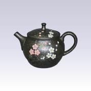 Tokoname Kyusu teapot - Crimson White Plum - 230cc/ml