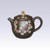 Tokoname Kyusu teapot - SAKURA Golden Knob - 200cc/ml