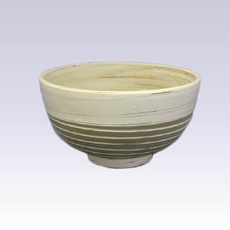 Tokoname Pottery Rice bowl - KENJITOEN - Kneading Green - 1Rice bowl