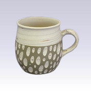 Tokoname Pottery Coffee Mugs - KENJITOEN - Kneading Green - 1Coffee Mug