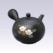 Tokoname Kyusu teapot - SHUNJYU - White Camellia - 210cc/ml