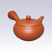 Tokoname Kyusu teapot - MORIMASA - Line Step - 260cc/ml