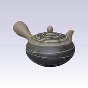 Tokoname Kyusu teapot - MORIMASA - Baked Wire Steps - 330cc/ml