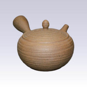 Tokoname Kyusu teapot - ISSIN - Tightening Rolls - 400cc/ml