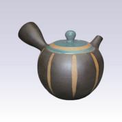 Tokoname Kyusu teapot - ISSIN - Blue Tokusa - 300cc/ml