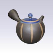Tokoname Kyusu teapot - ISSIN - Lapis Lazuli Tokusa - 300cc/ml