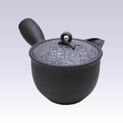 Tokoname Kyusu teapot - HAKUYO - Lid White Blow - 300cc/ml - Circle steel net