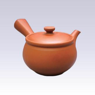Tokoname Kyusu teapot - JINSUI - Glossy - 310cc/ml - Wide mesh steel net