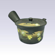 Tokoname Kyusu teapot - AKIRA - Clover - 360cc/ml - Stainless steel net